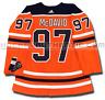 CONNOR MCDAVID EDMONTON OILERS HOME AUTHENTIC PRO ADIDAS NHL JERSEY