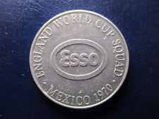 FICHA GASOLINERA ESSO MUNDIAL FUTBOL MEXICO 1970  INGLATERRA NORMAN HUNTER