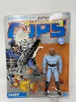 NEW 1988 VINTAGE HASBRO COPS N CROOKS TASER ACTION FIGURE MOC