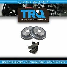TRQ Brake Drum & Shoe Rear Kit for Chevy Cobalt Pontiac G5 Saturn Ion New