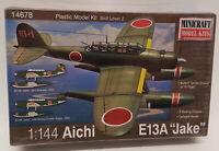 Minicraft Model Aircraft Kit 14678 - 1/144 Scale Aichi E13a Jake