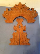 Antique Side & Top Trim For A Gingerbread Clock Reuse Repurpose Salvaged