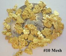 GOLD NUGGETS 5+ GRAMS Placer Alaska Natural #10 Mesh Mammoth Creek
