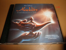 Disney ALADDIN soundtrack CD rare VERSION FRANCAISE french lyrics OST