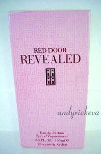 New Elizabeth Arden Red Door Revealed Eau De Parfum 100ml BNIB