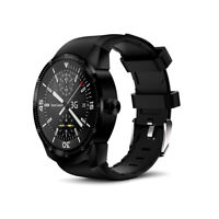 1.3-inch Android SmartWatch w/ Heart Rate Monitor (DualCore , 512MB RAM, Black)
