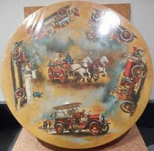 "Springbok Circular Puzzle ""Antique Fire Engines"""
