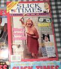 "Summer 1993 ""Slick Times"" Bill & Hillary Clinton,Politics,Scandals,Satire,Rare"