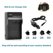 Battery Charger kit  for TOSHIBA Camileo A35 X100 H30 H31 Camcorder