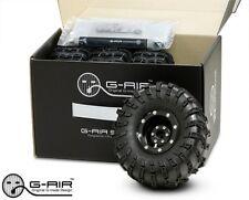 Gmade GMA70080 2.2 G-Air Beadlock Wheels System w/Tires (4) R1 Wraith SC10 AX10