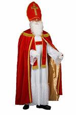 Nikolaus Bischof Samt rot NEU Weihnachtsmann