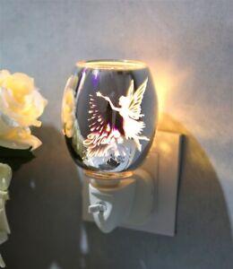 3D PLUG IN OIL AROMA WAX MELT WARMER BURNER 3D FAIRY MAKE A WISH DESIGN