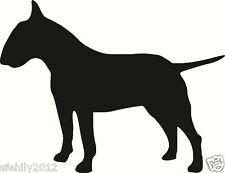 English bull terrier , Car, van Sticker, silhouette. Great Gift For Dog Lover,