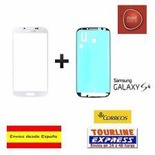CRISTAL EXTERIOR PANTALLA FRONTAL + ADHESIVO SAMSUNG GALAXY S4 I9505 BLANCO
