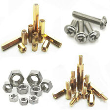M2 M3 Brass Standoff Spacer Screw Nut Bolt Hex Column Support Washer 20/50/100X