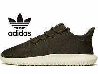 Adidas Originals Tubular Shadow Jacquard ® ( Men size UK 7 10.5 11 ) olive Khaki