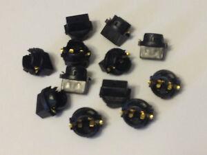12x For Mitsubis 194 Instrument Panel Cluster Light Bulb Dashboard Sockets Plug