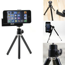 Black Cellphone Camera Video Tripod Stand Holder Mount Dock for iPhone 5 5G 4S 4