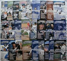 2010 Milwaukee Brewers Complete Set of 26 Game Programs w Aaron, Yount & More