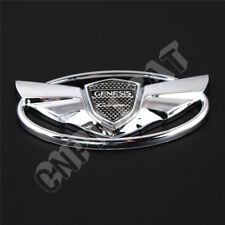 3D Chrome Hyundai GENESIS Coupe Logo Car Front Hood Grille Rear Emblem Sticker