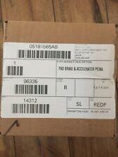 Mopar SRT 05181565AB Dodge Charger Challenger Chrysler 300 Pedal Overlay Kit OE
