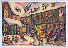 Der Nikolaus kommt Kleiner Adventskalender 24 Türchen Briefumschlag Nr. 680