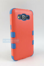 FOR SAMSUNG GALAXY GO PRIME G530A BABY RED TEAL NATURAL TUFF IMPACT CA