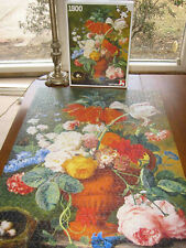 Nathan - Jan Van Huysum - STILL LIFE WITH FLOWERS - 1,500 pc - COMPLETE