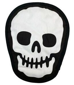 Skull Pot Holder Gothic Kitchen Horror Halloween Goth Home Holiday Decor Gift