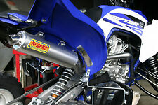 SPARKS RACING X-6 STAINLESS STEEL RACE CORE FULL EXHAUST RAPTOR 700 2015+
