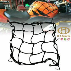 Motorcycle/Motorbike Luggage Cargo Oxford Net Helmet Rope Storage  Mesh 6 Hooks