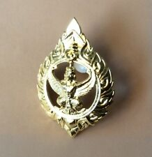 Thai Thailand Government officer Metal Cap badge