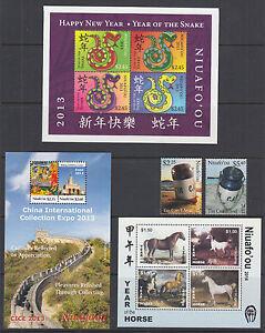 Tonga, Niuafo'ou Sc 293//318 MNH. 2013-14 issues, 4 cplt sets, VF+