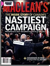 Maclean's - 2004, July 12 - The Inside Story of Canada's Nastiest Campaign