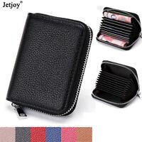 Men's Leather Wallet Purse ID Credit Card Holder Pocket Case Wallet RFID Block