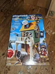 Playmobil Super 4 Hideout Fort New Pirates