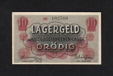 F.C. AUSTRIA , 10 HELLER , LAGERGELD , SIN FECHA , S/C- ( AUNC ) , VARIAS MARCAS