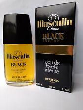 MASCULIN 2 BLACK INSTANT BOURJOIS 112 ml EDT PARFUM DUFT VERY RARE RARITAT !