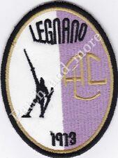 [Patch] A.C. LEGNANO CALCIO 1913 serie cm 7 x 9 toppa termoadesiva ricamo -1078