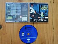 PS1 ROSWELL CONSPIRACIES PLAYSTATION 1 ONE GAME AUS SELLER PAL CIB COMPLETE