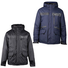 CAT Caterpillar Night Flash Jacket Mens Water Resistant Quilted Insulated Coat