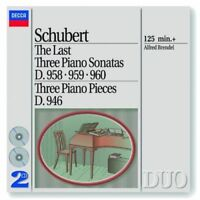Schubert - Late Piano Sonates / Brendel Pm2 Neuf CD