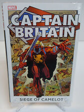 Captain Britain Volume 2 Siege of Camelot Marvel Comics HC Hard Cover New Sealed
