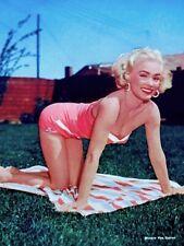 Mamie Van Doren 1955 Vintage Pinup Litho Sterling Smith Photo Publicity COA
