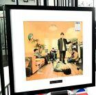 Oasis Framed Original Album Artwork-Definitely Maybe-Certificate-Metal Plaque