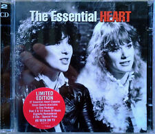 HEART - THE ESSENTIAL HEART - EPIC - (2) CD SET - LIMITED EDITIION - 37 TRACKS