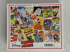 Disney Mickey Mouse Poster Puzzle 1500 Piece  Pre-owned
