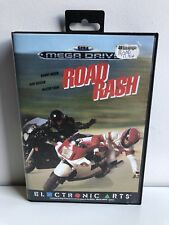SEGA MEGADRIVE ROAD RASH BOXED CIB 100% COMPLETE RARE ORIGINAL VERSION
