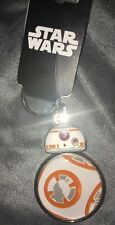 Disney Star Wars The Force Awakens BB-8 Metal Keychain Keyring by BioWorld New