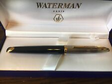 WATERMAN CARENE DELUXE Rollerball Pen Black/Silver GT